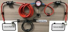 3m Ready Made Split Charge Relay Kit 12v 140 AMP VSR 110Amp Lead T4 T5 Camper