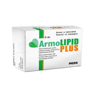 Armolipid Plus tablets, N30 To maintain normal cholesterol levels