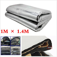 1MX1.4M Heat Shield Mat Car Turbo Exhaust Muffler Insulation Hood Engine Cotton
