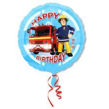 Happy Birthday | Folien Ballon 45 cm | Feuerwehrmann Sam | Party Geburtstag