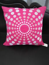 Gorgeous Nettex HYPNOTIC Pink Suede Look Embroidered Cushion Cover  SALE