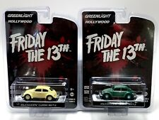 Green Machine 2pc Set - Volkswagen Classic Beetle / Friday the 13Th Greenlight