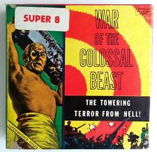 "War of the Colossal Beast VINTAGE Super 8mm film Ken Film 4"" Box 540 & Catalog"
