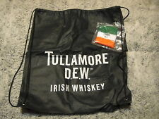 TULLAMORE DEW IRISH WHISKEY ~ Rare ~ NEW ~ Lightweight Backpack Bag & Wristband