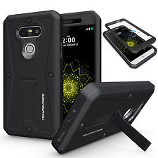 LG G5 Case, Full Body Protection Rugged Armor Hard Soft Tough Cover Shockproof