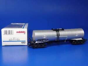 MARKLIN H0 - 4757 - EVA CHEMICAL TANK CAR / BOX - NEW