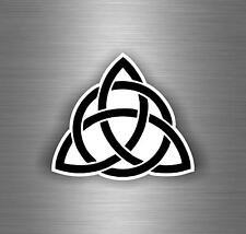 Sticker adesiva adesivi tuning auto moto celtico trinity triquetra croce knot r2