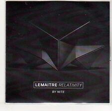 (EO926) Lemaitre, Relativity by Nite - DJ CD