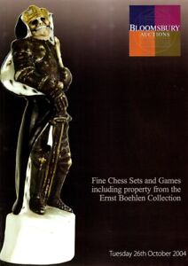 """Bloomsbury """"Fine Chess Sets & Games"""" Auction Catalogue, 2004"""