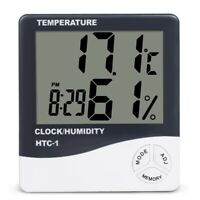 HTC-1 LCD Digital Thermometer Hygrometer Indoor Electronic Temperature Humidity
