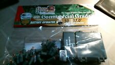 Holiday Bright Lights Commercial Grade Christmas Lights LED Battery Operated FS