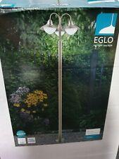 Eglo SIDNEY outdoor floor stainless steel light