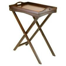 Winsome Wood Devon Butler TV Table with Serving Tray