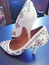 ISABEL MARANT Studded Pumps Leather Shoes Stiletto Heels 9.5 9.5D 9 1/2 W