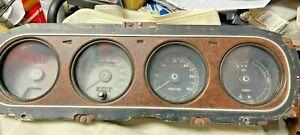 1969 1970 Mercury Cougar XR7 Speedometer Cluster Gauge Tachometer Instrument