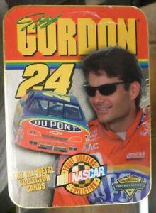 1997 metallic impressions racing jeff gordon 5 metal cards sealed