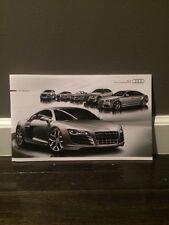 2010 Audi Brochure A3 A4 S4 S5 Cabriolet A6 S6 A8 A8L TT TTS R8 V10 5.2 Q5 Q7