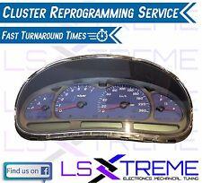 VX HSV Cluster Reprogramming Service XU6 Clubsport GTS Senator Signature R8