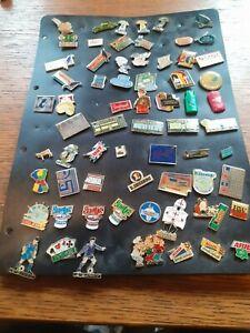 Lot pin's different 57 TOTAL MILKA MAC DO PELLEGRIN