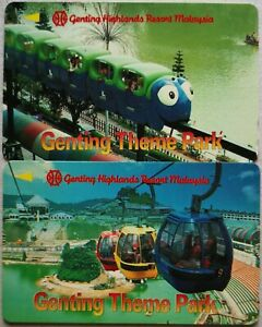 Malaysia Used Uniphone Phone Card : 2 pcs Genting Theme Park
