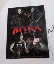 Slayer Sticker 2001 Metal Super Large Collectible Rare Vintage