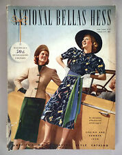National Bellas Hess CATALOG - Spring/Summer, 1938 -- fashion ~~ 200 pages