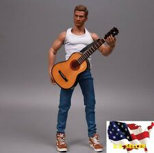 1/6 classic wood color guitar John Lenon music instrument hot toys ❶US SELLER❶