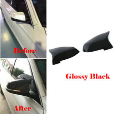 Car Side Mirror Cover Cap For BMW F10 F18 F06 F12 F01 F02 14-16 Replace 2PCS