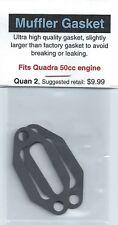 Quadra 50cc Exhaust/Muffler Gasket 2 Pack NIP