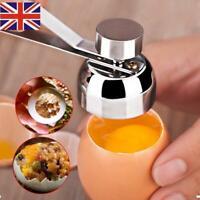 1X Egg Shell Topper Cutter Remover Stainless Steel Cracker Tool Opener Separator