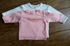 2 x Long-Sleeved Tops (Cherokee 3-6 mths & Mexx 2-4 mths) - Excellent Condition