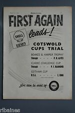 R& L Ex-Mag Advert: Shell Petrol Cotswold Cups Trial Triumph BSA / Dunlop Tyres