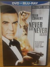 Never Say Never Again (Blu-ray/DVD, 2010, 2-Disc Set, DVD/Blu-ray)