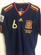 Camiseta Iniesta España Final Mundial 2010 talla M nueva