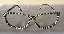 Vintage Classic  Retro Glasses Frame B&W colours GOANNA EYETECH 60-18