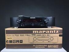 MARANTZ NR1602 7.1 Réseau AV Récepteur en noir. Coffret. 99p NR