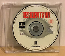 Resident Evil PS1 Game Disc Only in slimline CD Case VGC Tested Working
