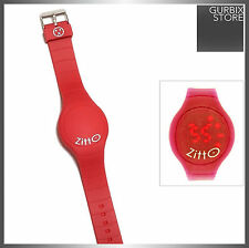 Orologio LED ZITTO  rosso - red