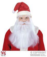Babbo Natale Maschera maschera Nicholas con parrucca, BARBA