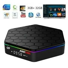 T95Z PLUS Android 7.1 TV Box CPU 4 CORE 3GB RAM 32GB ROM Q5 ANDOWL