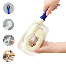 Bottle Cleaning Brush Multi-Function Household Tools for Decanters Cups Etc.