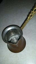 Vintage Copper Pitcher with brass handle