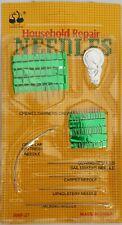 paquet de 27 aiguilles de couture avec un passe fil