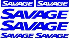 SAVAGE - DECAL SET OF 6 - BOAT DECALS