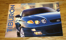 Original 2000 Hyundai Tiburon Deluxe Sales Brochure 00