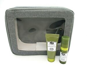 Set/2 Origins Plantscription Anti-Aging Power Eye Cream / Power Serum + Bag
