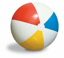 """Inflatable Blowup Panel Beach Ball  24"""" Holiday Party Swimming Garden Toy"""