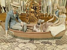 """RETIRED LLADRO EXTREMELY RARE FIND Limited Edition  """"LOVE BOAT"""" FIGURINE #5343"""