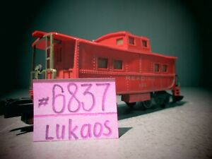 Vintage American Flyer #630 Reading Lighted Caboose.