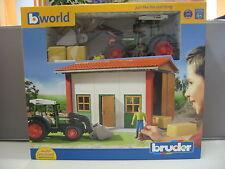 Bruder Maschinenhalle - Traktor -  62620 - ab 5 Jahre - NEU und OVP